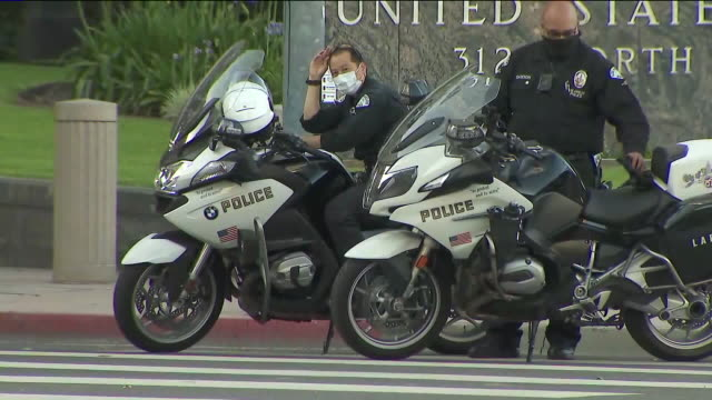 los angeles, ca, u.s. - los angeles police department, on thursday, june 11, 2020. - los angeles police department stock videos & royalty-free footage