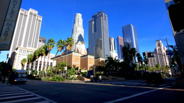 los angeles, ca - city of los angeles stock videos & royalty-free footage