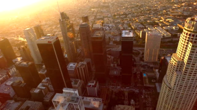 los angeles, ca - sunrise dawn stock-videos und b-roll-filmmaterial