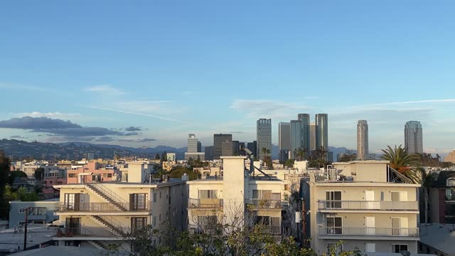 los angeles, century city and residential district - century city stock videos & royalty-free footage