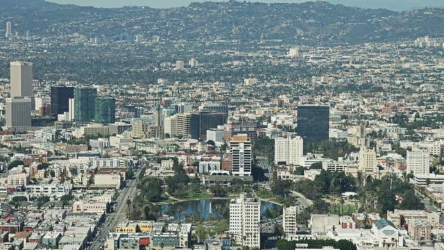Los Angeles Cityscape Pan