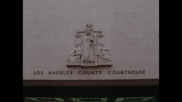 los angeles county courthouse building, lady justice relief - lady justice stock videos and b-roll footage