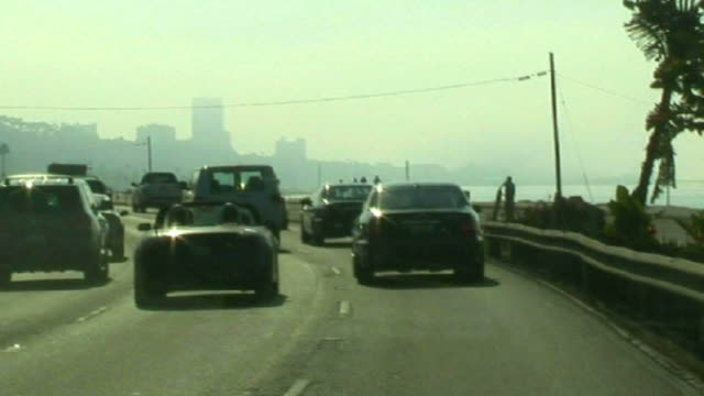 (HD1080i) Los Angeles: Crazy Pacific Coast Highway, Malibu -Time Lapse-
