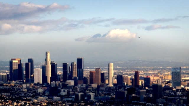 Los Angeles Downtown Skyline Timelapse