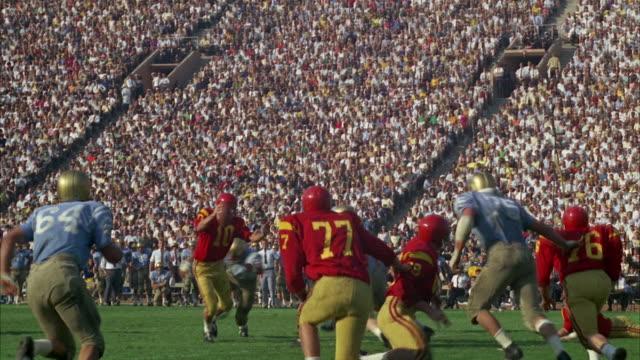 WS PAN Los Angeles football game at University of Southern California / Los Angeles, USA