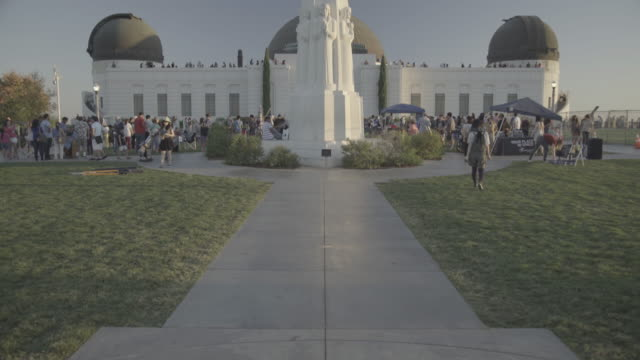 los angeles - griffith observatory - griffith observatory stock videos & royalty-free footage