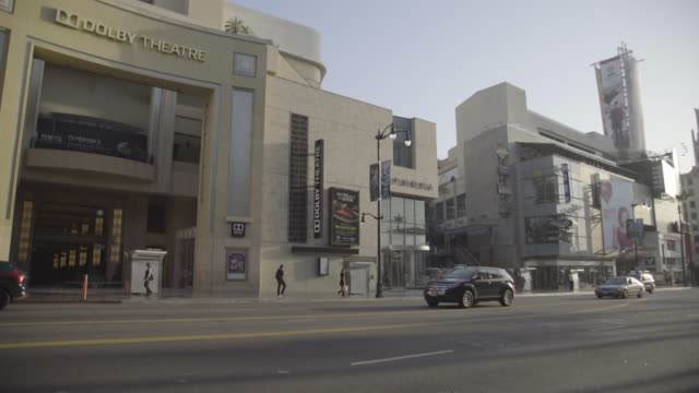 los angeles - hollywood blvd - the dolby theatre stock videos & royalty-free footage