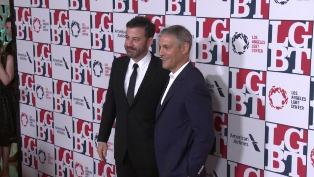 clean los angeles lgbt center's 48th anniversary gala vanguard awards in los angeles ca - jimmy kimmel stock videos and b-roll footage