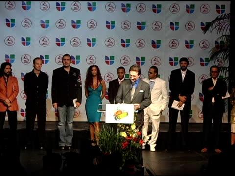 los angeles mayor antonio villaraigosa announces latin grammy nominees at the 2005 latin grammy awards nominations at the music box theater in... - antonio villaraigosa stock videos and b-roll footage