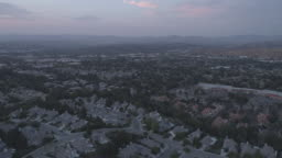 Los Angeles neighborhood aerial