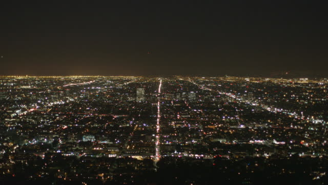 Los Angeles Panorama View by Night