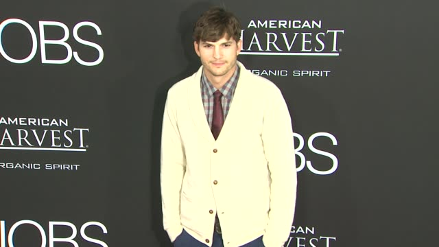 los angeles premiere, los angeles, ca, united states, 8/13/13 . - ashton kutcher stock videos & royalty-free footage