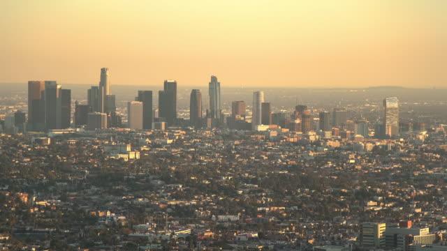 stockvideo's en b-roll-footage met skyline van los angeles - opeenvolgende serie