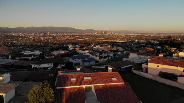 los angeles suburbs - hill stock videos & royalty-free footage