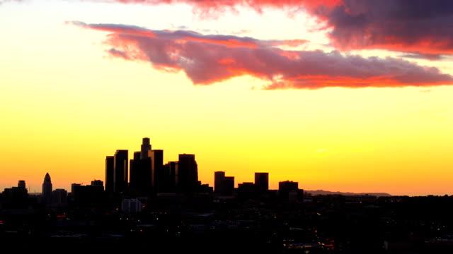 Los Angeles Sunset - HD Stock Video