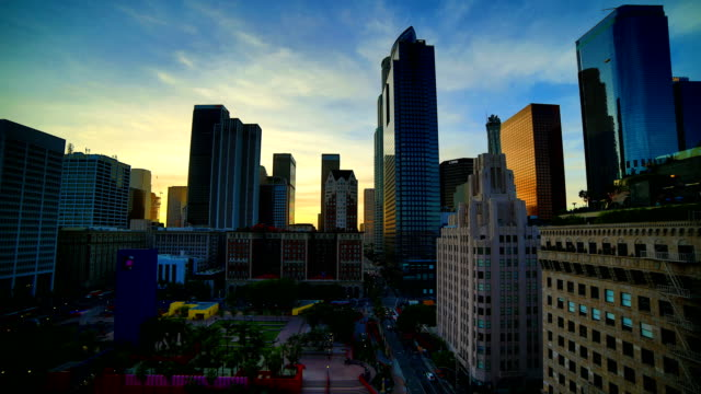 Los Angeles sunset time lapse