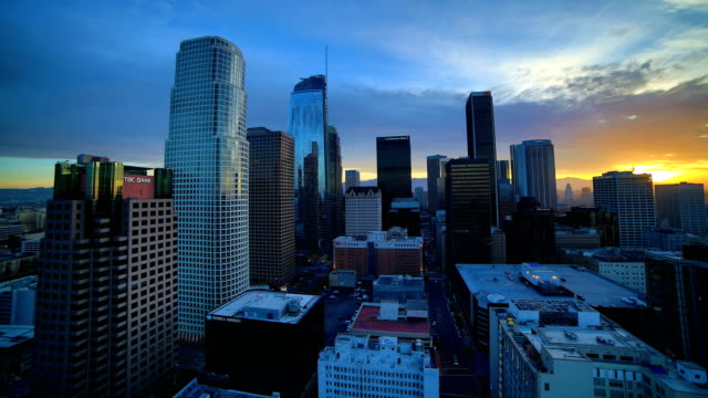 Los Angeles time lapse 4K