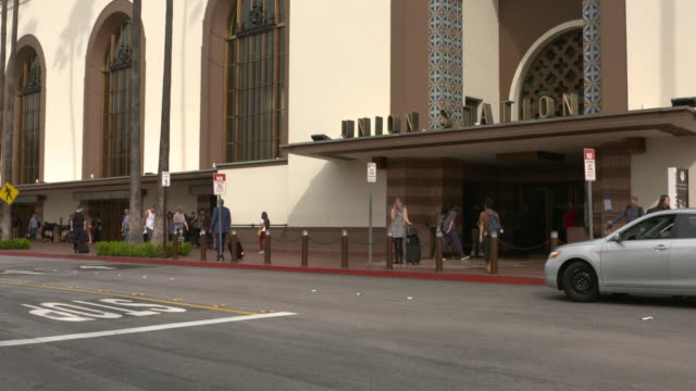 ktla los angeles union station - union station los angeles stock videos & royalty-free footage
