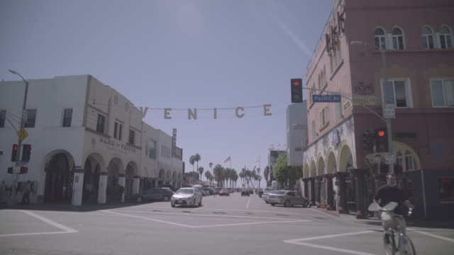 Los Angeles - Venice Beach Entrance at pacific ave