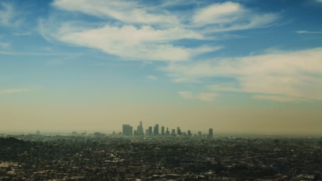los angeles view 1 - griffith observatory stock videos & royalty-free footage