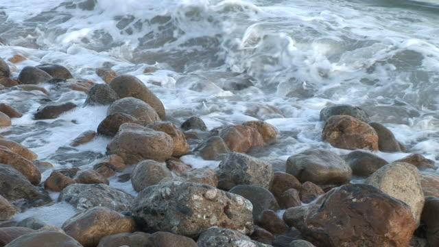Los AngelesClose view of ocean waves in Los Angeles United States