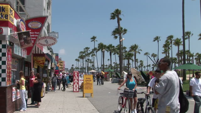 Los AngelesVenice Beach street in Los Angeles United States
