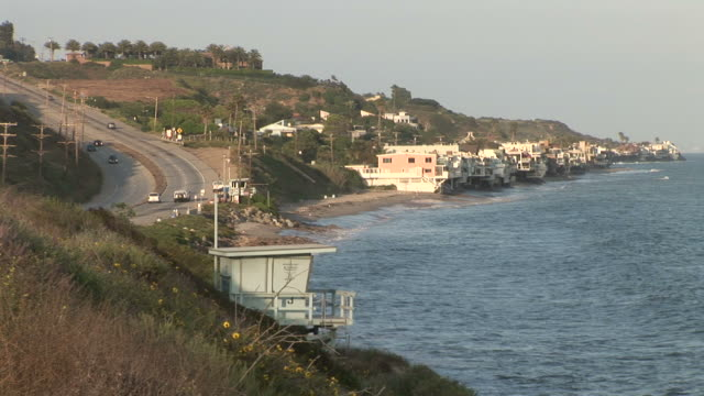 Los AngelesView of coastline in Los Angeles United States