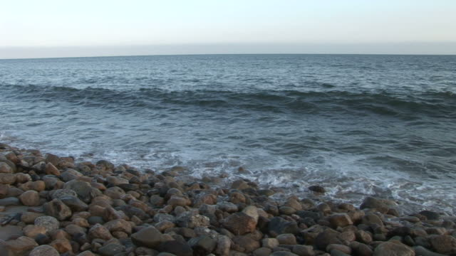 Los AngelesView of ocean waves in Los Angeles United States