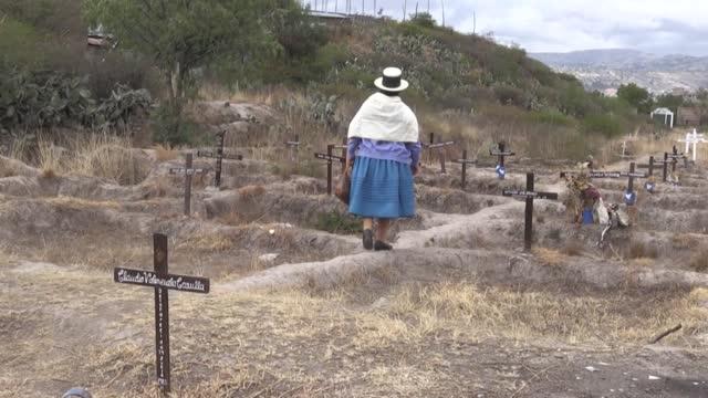 los familiares de peruanos desaparecidos durante el conflicto interno entre 1980 y 2000 piden una sola cosa: los restos del líder de la guerrilla... - maoism stock videos & royalty-free footage