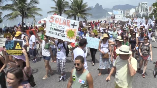 Los latinoamericanos se sumaron a la tercera jornada consecutiva de protesta mundial exigiendo acciones concretas contra el cambio climatico