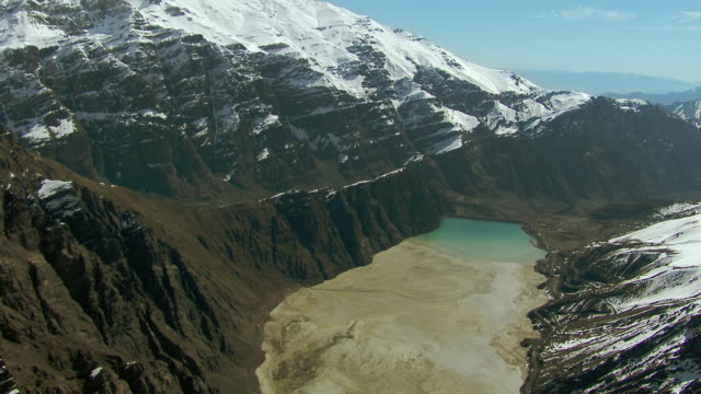 los leones tailings dam in chile - dam stock videos & royalty-free footage