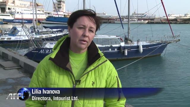 Los operadores turisticos de Crimea una vez considerada la Riviera Ucraniana temen que el conflicto en el que esta involucrada la peninsula afecte su...
