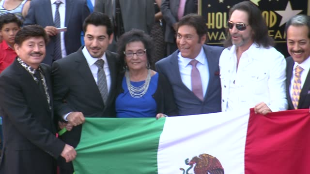 los tigres del norte at los tigres del norte honored with star on the hollywood walk of fame hollywood ca 08/21/14 - california del norte stock videos & royalty-free footage