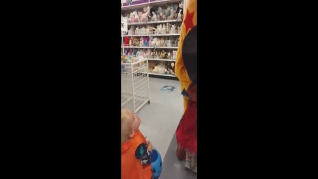 lot of people were affected by the announcement that toys 'r' us is closing its doors after so many years. together with his wife, who worked there... - toys r us stock videos & royalty-free footage