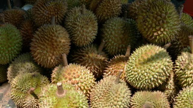 CU Lots of durian fruit, Ubud, Bali, Indonesia