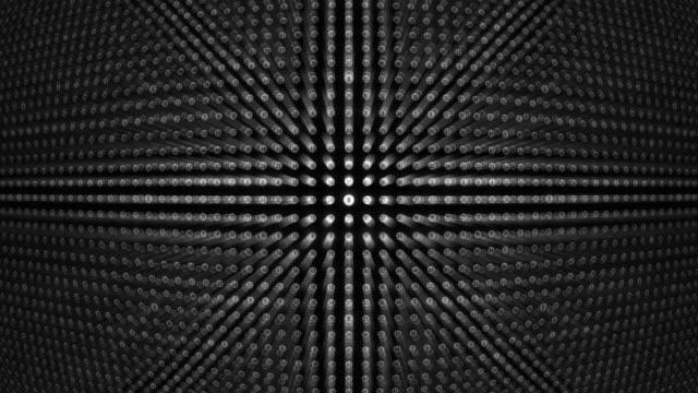 宝くじボールグリッド - 宝くじ点の映像素材/bロール
