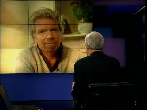 New organisers decided ITN ENGLAND London GIR ExLondon Sir Richard Branson interviewed SOT Would love to call it a day but vast majority of people in...