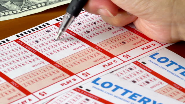 lottery tickets - lottery stock videos & royalty-free footage