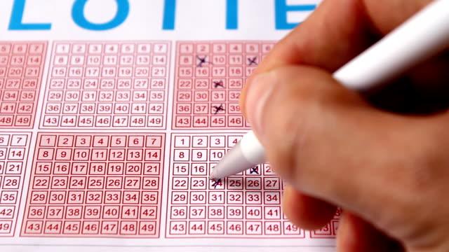 lotterie (hd - lotterie stock-videos und b-roll-filmmaterial