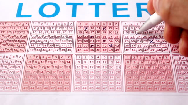 lottery (hd) - lottery stock videos & royalty-free footage