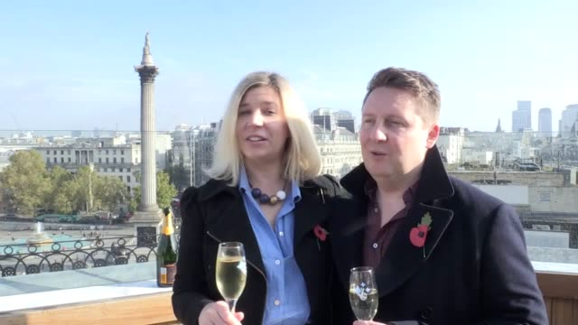 lottery winners gavin and sylvia odolant-smith, celebrating their win of £10,000 a month for the next 30 years, as they couple have said the first... - lottery stock videos & royalty-free footage