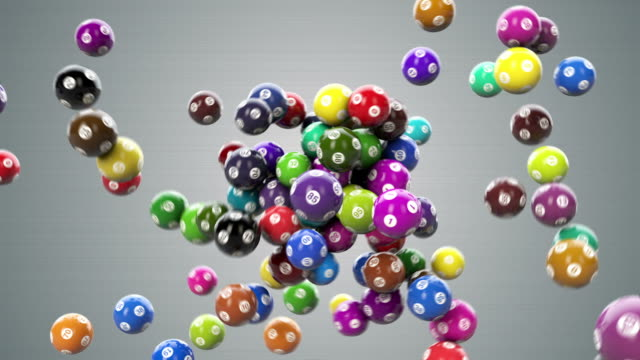 stockvideo's en b-roll-footage met lotto balls hd - bingo