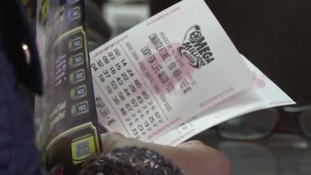 lotto fever is gripping the us as the prize for friday's mega millions contest soars to $1 billion representing the largest jackpot in global lottery... - friday stock videos & royalty-free footage