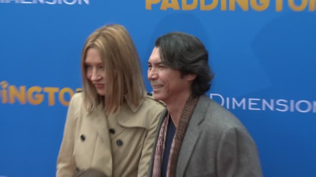 lou diamond phillips at 'paddington' los angeles premiere at arclight cinemas cinerama dome on january 10 2015 in hollywood california - arclight cinemas hollywood video stock e b–roll