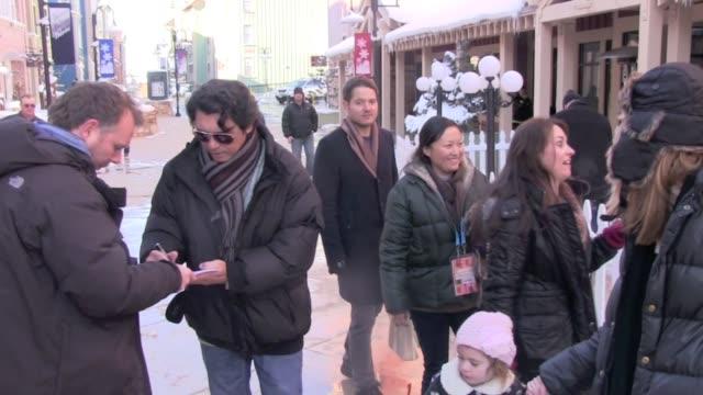 stockvideo's en b-roll-footage met lou diamond phillips at the 2012 sundance film festival in park city, utah, on 1/23/2012 - sundance film festival
