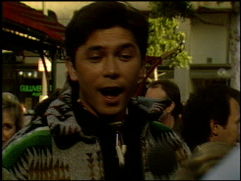 Lou Diamond Phillips at the 'City Slickers' Premiere at Grauman's Chinese Theatre in Hollywood California on June 8 1991