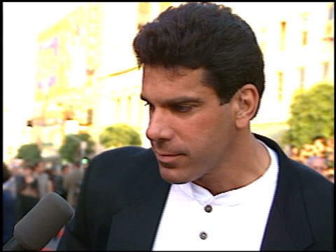 lou ferrigno at the 'eraser' premiere at grauman's chinese theatre in hollywood, california on june 11, 1996. - eraser stock videos & royalty-free footage