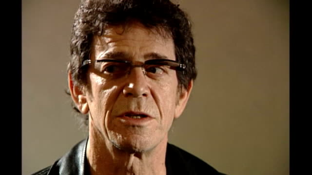 lou reed dies aged 71; t28050343 / lou reed interview sot - ルー リード点の映像素材/bロール