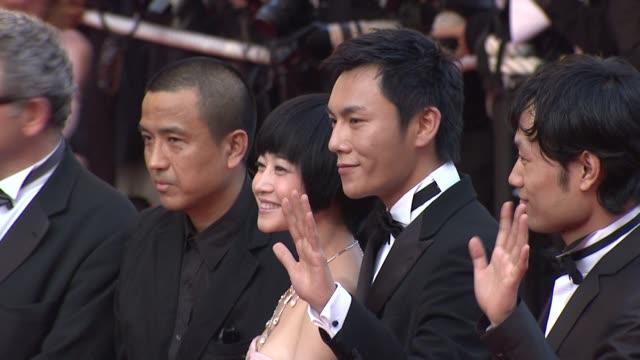 vídeos y material grabado en eventos de stock de lou ye tan zhuo chen sicheng at the cannes film festival 2009 closing steps coco chanel igor stravinsky at cannes - tan