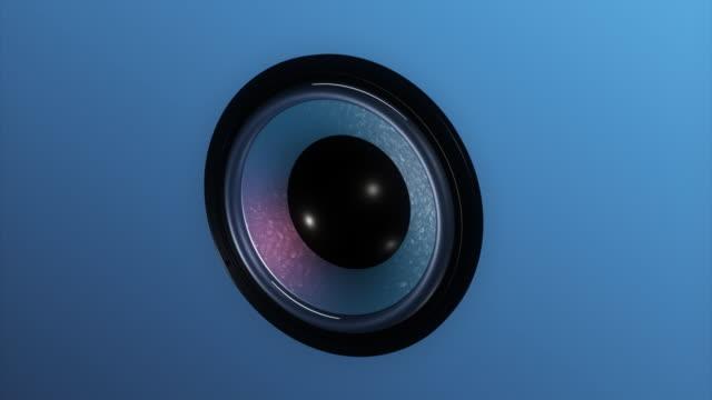 vídeos y material grabado en eventos de stock de 3 d altavoz v.1 hd1080 - altavoz